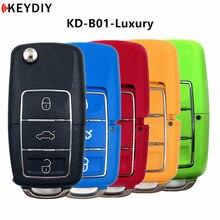 5 pçs keydiy original 3 botão kd900/kdmini b série multi-color controle remoto B01-3 para KD-X2 programador chave urg200