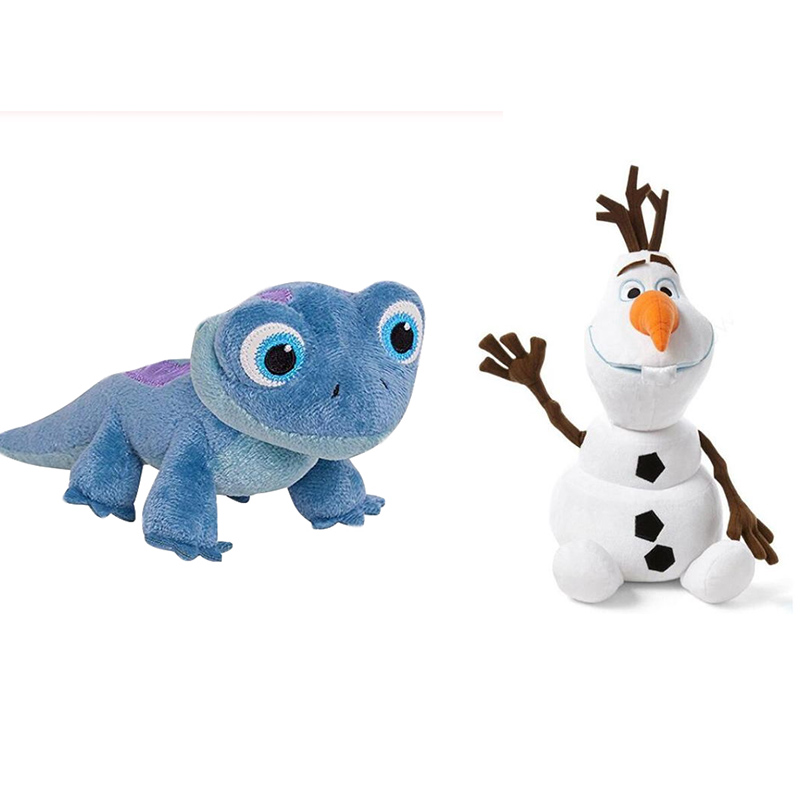 Snowman Olaf NEW Fire Lizard Fever Fire Elves Anna Elsa 2 Plush Toy Stuffed Doll  Princess Plush Doll For Kid Child