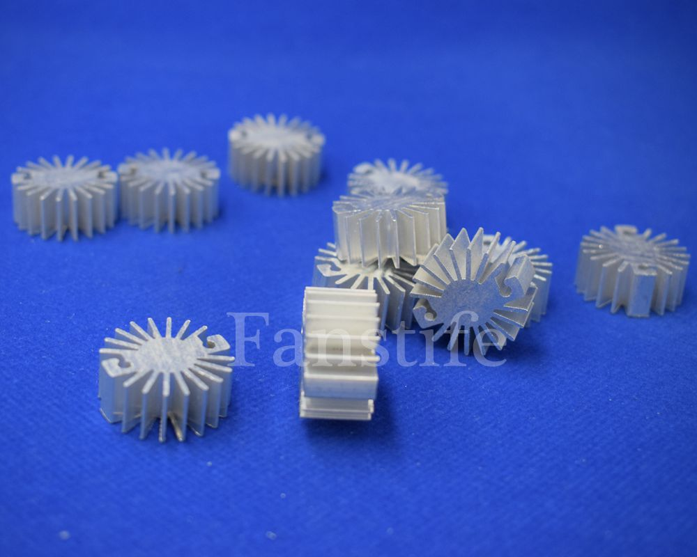 23mm Height-12mm <font><b>1W</b></font> High Power <font><b>Led</b></font> Radiator Aluminum <font><b>Heatsink</b></font> Star image
