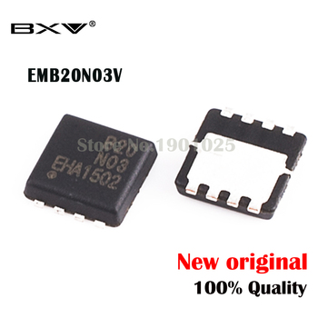 5pcs EMB20N03V EMB20N03 B20N03 3mm*3mm MOSFET QFN-8 new original 5pcs tip33c new and original