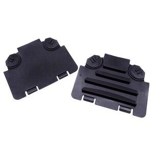 Image 5 - 1 Pair Black Left/Right Car Front Fender Liner Access Cover Trim Auto Decoration Accessories For BMW E82 E88 E90 E91 135i 325i