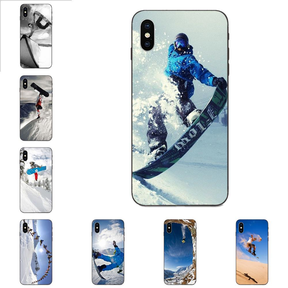 Enjoy Snow Or Die Ski Snowboard For Galaxy C5 C7 J1 J2 J3 J330 J5 J6 J7 J730 M20 M30 Ace Core Max Mini Plus Prime Pro