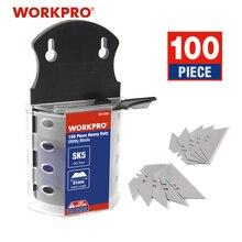 Workpro lâminas originais lâminas resistentes para faca sk5 lâminas de faca aço 100 pçs/lote
