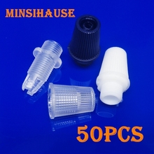50/200/1000pcs Plastic Cable Strain Reliefs Wire Clamp Male M10 Thread Cord Grips Pendant Light Accessories Light Socket Cap