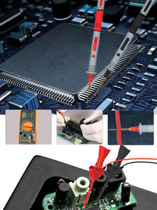 Cleqee Probe-Probes Replaceable Needles Multimeter Cable-Feeler Test-Leads-Kits for Digital