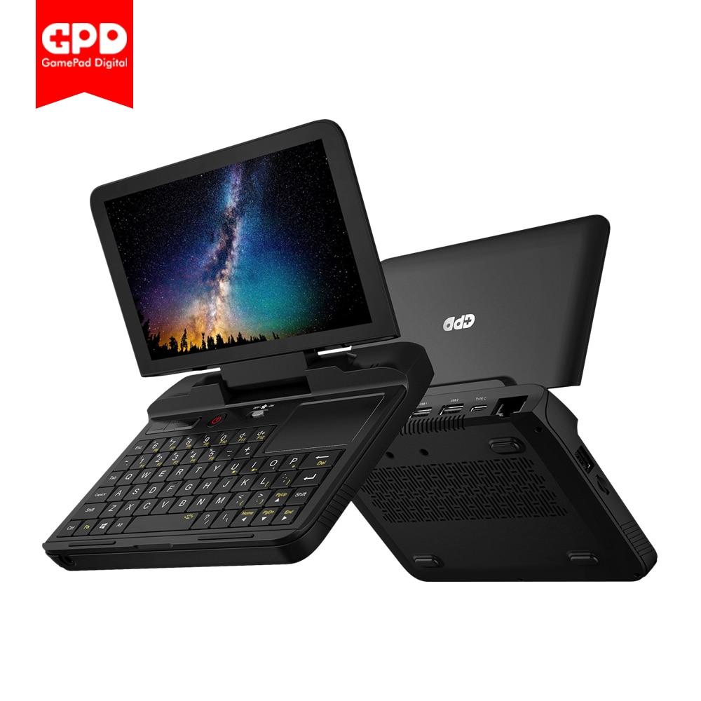 Новое поступление GPD MicroPC 6 дюймов Мини ноутбук Windows 10 8 ГБ ОЗУ 128 Гб ПЗУ Intel Celeron N4100 Карманный ПК компьютер Ноутбук микро ПК