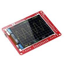 DSO138 13805K мини цифровой осциллограф DIY Kit SMD части предварительно припаянный электронный Обучающий набор осциллографы
