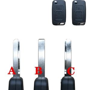Складной пульт дистанционного ключа, пустой левое лезвие, подходит для Geely Emgrand 7 EC7 EC715 EC718 Emgrand7 EC7-RV EC715 EC718-RV левое лезвие