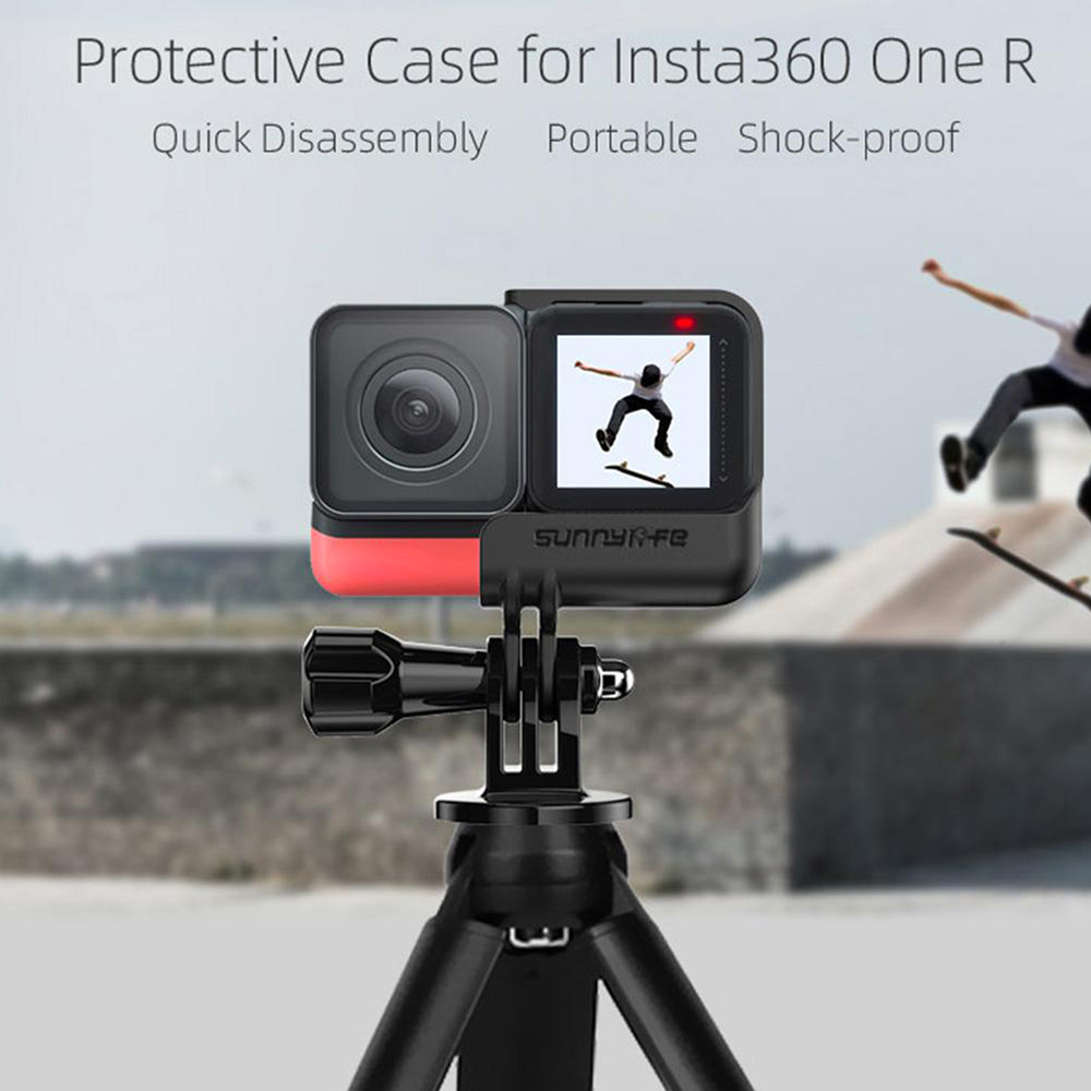 Frame Border For Insta 360 One R Camera Accessories Mount Frame Holder Detachable Protective Border Quick Release Camera Frame Strengthening Waist And Sinews