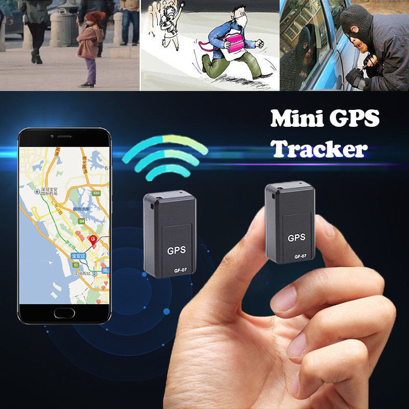 Car GPS Locator Recording-Tracking-Device Gps-Tracker Voice-Control Anti-Lost Mini title=