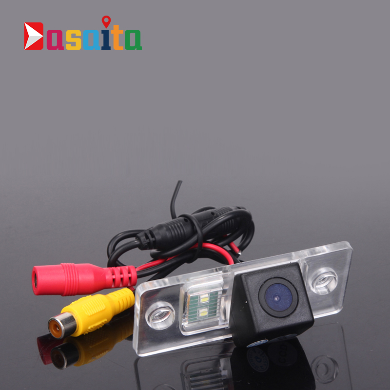 CCD Car Rear View Camera for Porsche Cayenne Volkswagen Tiguan Skoda Fabia Reverse Backup Review Reversing Parking kit Monitor image