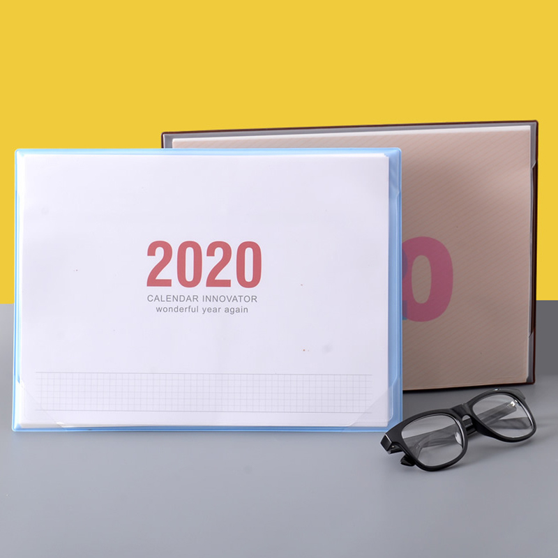 2020 Desk Calendar Planner Simplicity Agenda Table Calendar Weekly Planner Monthly To Do List Desktop Calendar Office