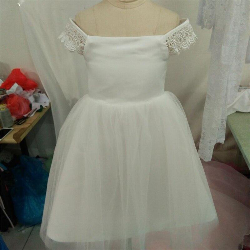New Real Flower Girl Dresses for Wedding Lovely Little Girls Kids/Children Dress Birthday Ball Party Pageant Communion Dresses