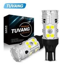 2x w16w t15 lâmpadas led 3030 canbus obc livre de erros led backup luz 921 912 w16w lâmpadas led carro reverso lâmpada âmbar branco dc12v