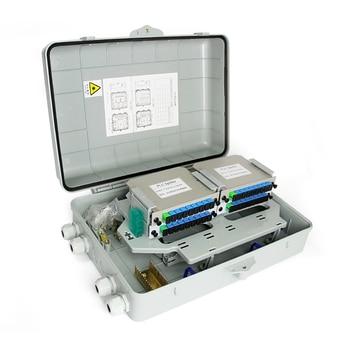 1X32 Splitter Fiber Optical Box FTTH PLC Splitter Box for 4*1X8 2*1X16 Optical Splitter SC APC 1x16 2 0mm plc optical splitter sc apc 1x16 plc fiber optical splitter single mode