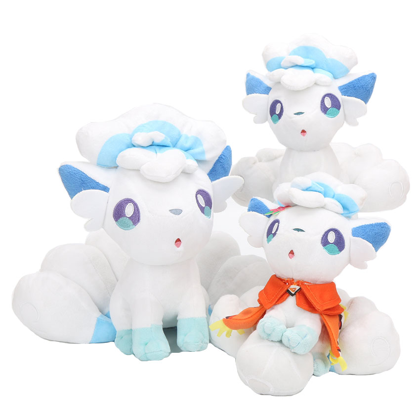 20cm Pokemon Plush Doll Alola Vulpix Plush Toy Stuffed Dolls Plush Doll Gifts for Children 1