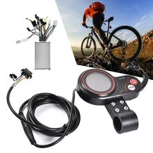 24V 36V 48V 250W / 350W Electric Bike Scooter Controller LCD Display Control Panel With Shift Switch E-bike Accessory