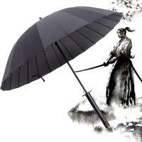 Neue Samurai Schwert Griff Regenschirm Ninja Katana Japanischen Lange Regenschirm