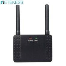 Retekessアンプ 500 100mwのrf無線リピータ信号増幅器学習コードT117 コールボタン 433mhz用F4408A