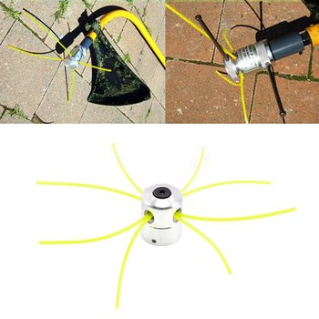 цена на In Stock Lawn Mower Cylindrical Grass Head Strimmer Mower Head Universal Trimmer Head Grass Brush Cutter Accessories Mowing Tool
