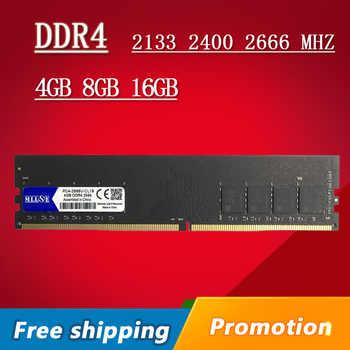 MLLSE Desktop RAM DDR4 4GB 8GB 16GB Memory DDR4 2133Mhz 2400Mh 2666Mhz 4G 8G 16G 2133 2400 2666 MHZ PC Motherboard Memoria - DISCOUNT ITEM  53 OFF Computer & Office