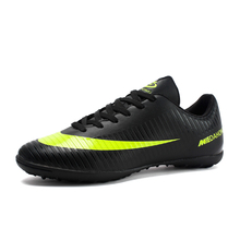 Soccer-Shoes Spike Turf Football-Boots Sport-Sneakers Outdoor Male Men Short Non-Slip