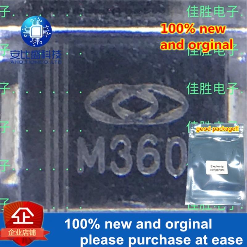 30pcs 100% New And Orginal MURS360 3A600V DO214AB Silk-screen M360 In Stock