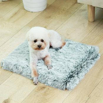 Pet Dog Mat Blanket Winter Dog Bed Blanket Dog Cave Waterproof Washable Plush Square Dogs Cats Pets Warm Sleeping Bed Cover Mat image