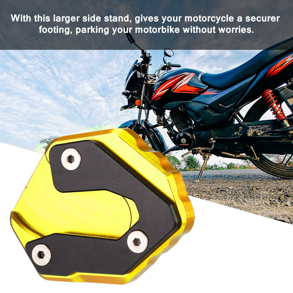 Подставка для мотоцикла, опорная пластина для ног, Модифицированная подставка для ног для Yamaha MT-09 FZ-09 XSR900 Tracer 900 GT
