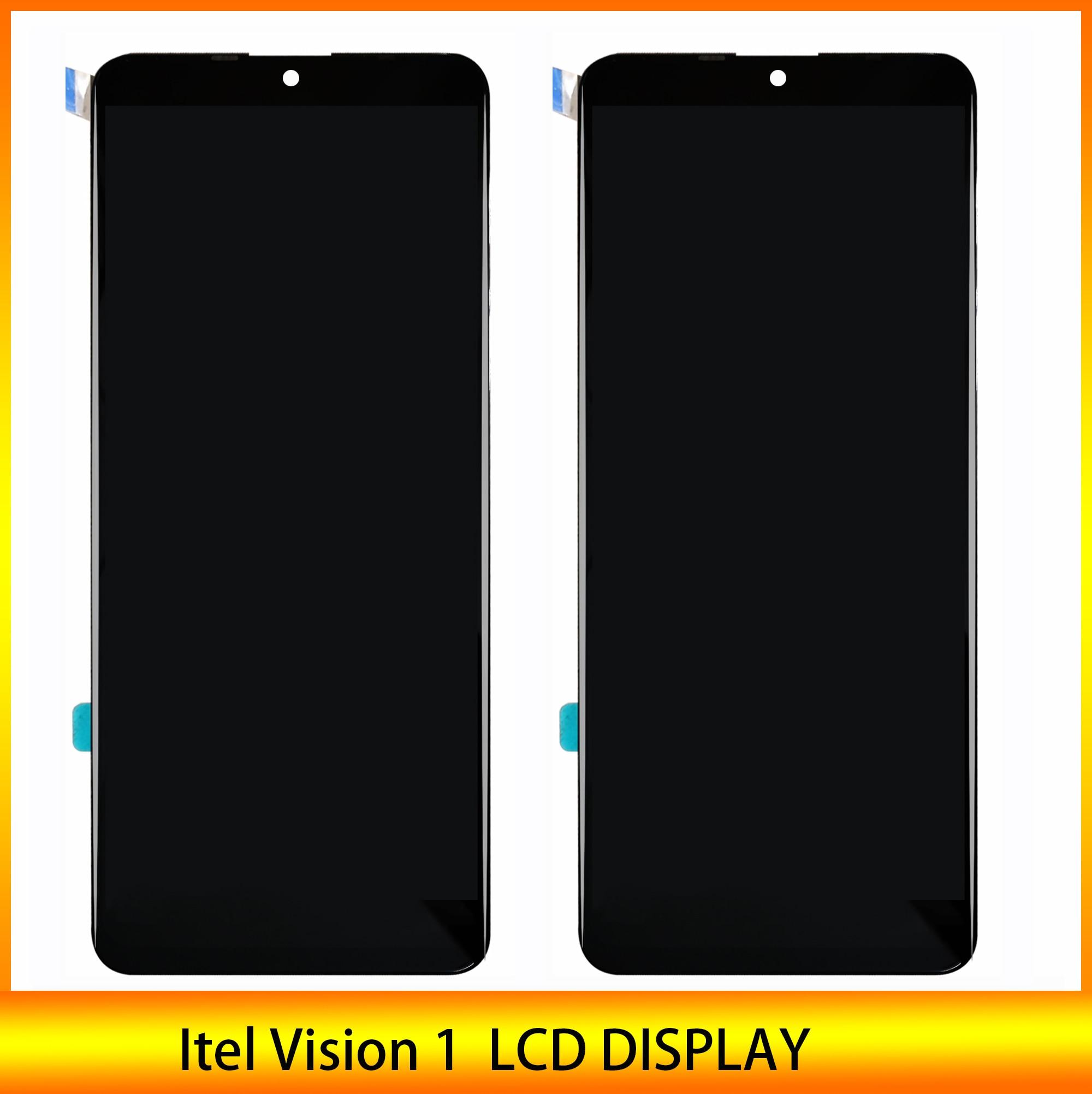 Высококачественный Оригинальный ЖК-дисплей 6,1 дюйма для Itel Vision 1 L6005, ЖК-дисплей, сенсорный датчик, дигитайзер, лента и инструмент