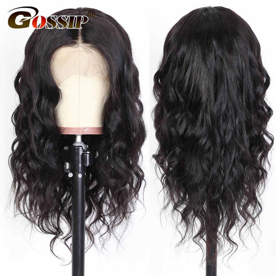 4x4 pelucas con cierre de encaje, cabello humano 5x5, cuerpo brasileño ondas encaje pelucas para mujeres negras pre-arrancadas con cabello de bebé 150% de densidad Remy