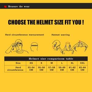 Image 5 - Demi casque de vélo unisexe rétro de Moto, casque de moto, demi Face allemand, casque M/L/XL, noir mat