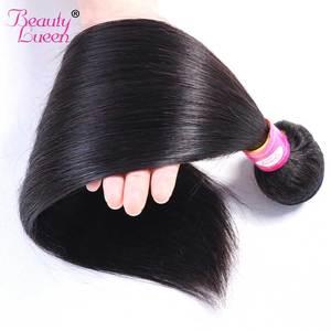 Image 2 - การรวมกลุ่มผมตรงบราซิล Hair Weave 3 Bundles ราคาถูกมนุษย์ผม Non Remy ความงาม Lueen ผม