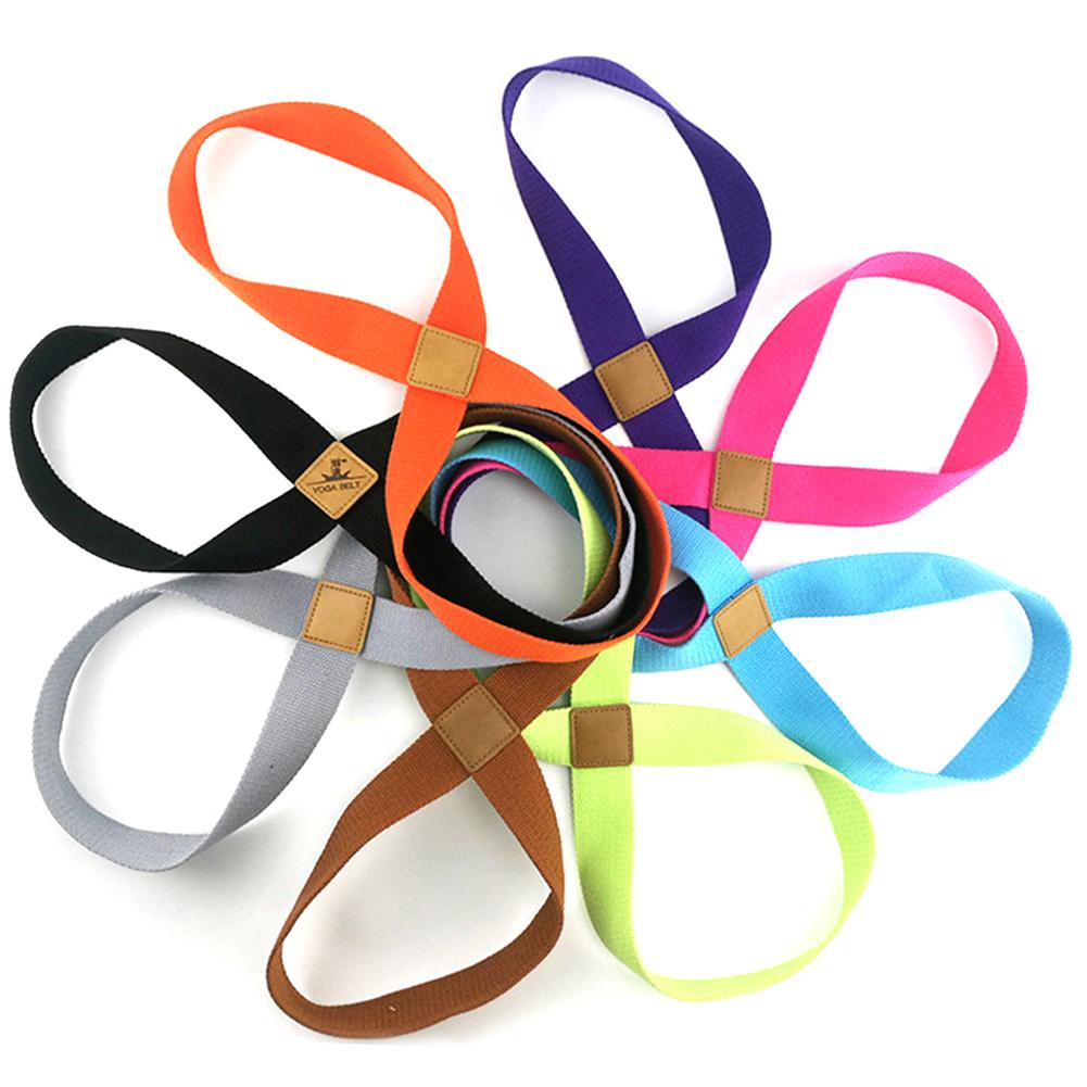 Yoga Stretch Strap Pull Up Belt Cotton Thickened Rope Band For Wrist Waist Leg Training Gym Accessories Fitness Equipment