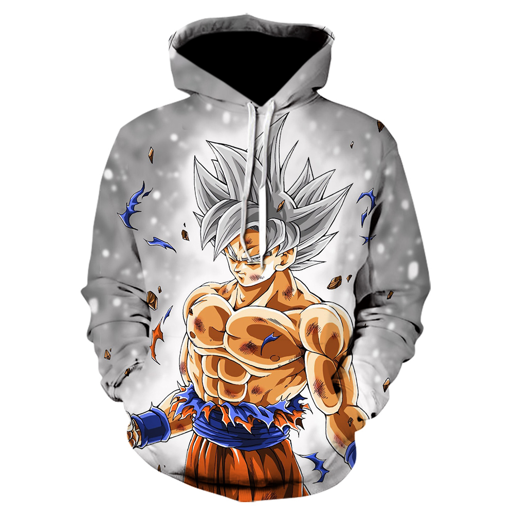 Dragon Ball Hoodies Men Women 3D Hoodie Dragon Ball Z Sweatshirts Anime Fashion Casual Tracksuits Boy Hoodie Hooded Pullover