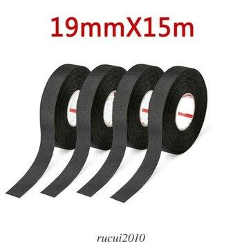 Cinta de tela cable cableado eléctrico arnés coche Auto Suv camión 19mm * 15m mmanta de tela