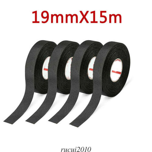 Cloth Tape Wire Electrical Wiring Harness Car Auto Suv Truck 19mm*15m Mblanket Cloth