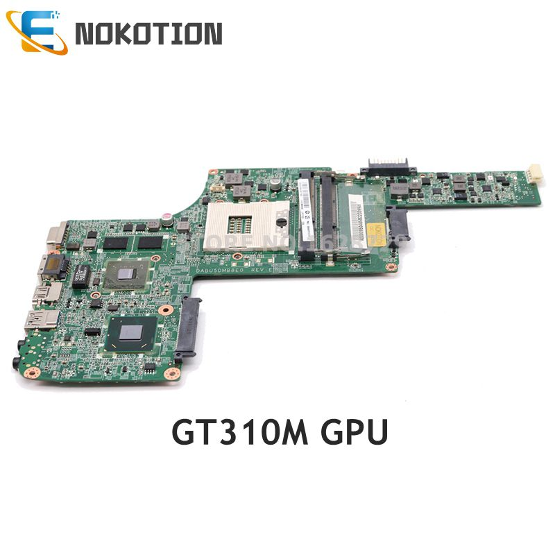 NOKOTION DABU5DMB8E0 A000095040 For Toshiba Satellite L730 L735 Laptop Motherboard HM65 DDR3 GT315M graphics
