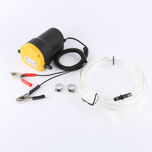 12V 60W Electric Oil Pump 24V Diesel Extractor Car Submersible Fuel Transfer for Auto Boat Motorcycle