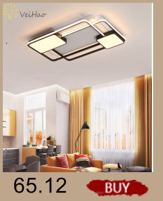 Hc751e242a243488d840a170ecfbda58fE Creative modern led ceiling lights living room bedroom study balcony indoor lighting black white aluminum ceiling lamp fixture