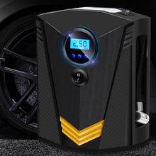 Автомобильный воздушный насос автомобильный с цифровым дисплеем