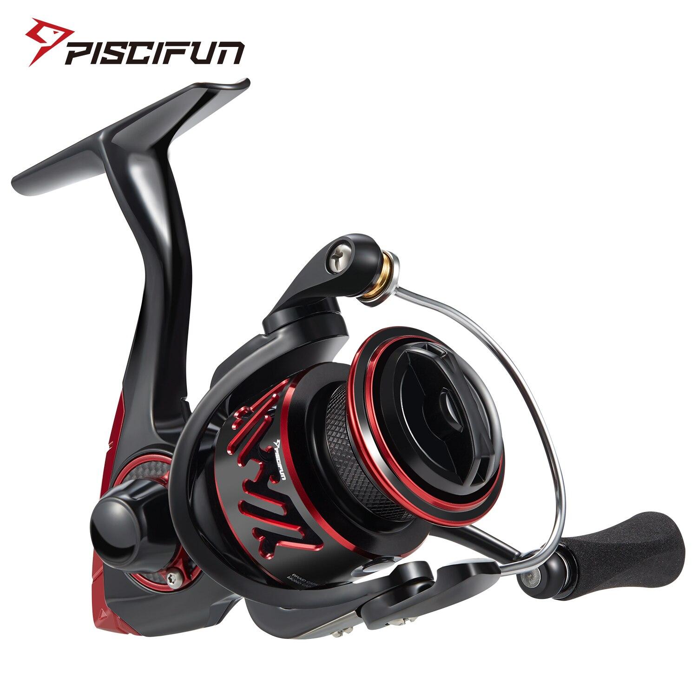 Piscifun Honor XT Spinning Fishing Reel 5.2:1 / 6.2:1 Gear Ratios 10+1 Bearings Up To 15kg Max Drag Freshwater Saltwater Reel