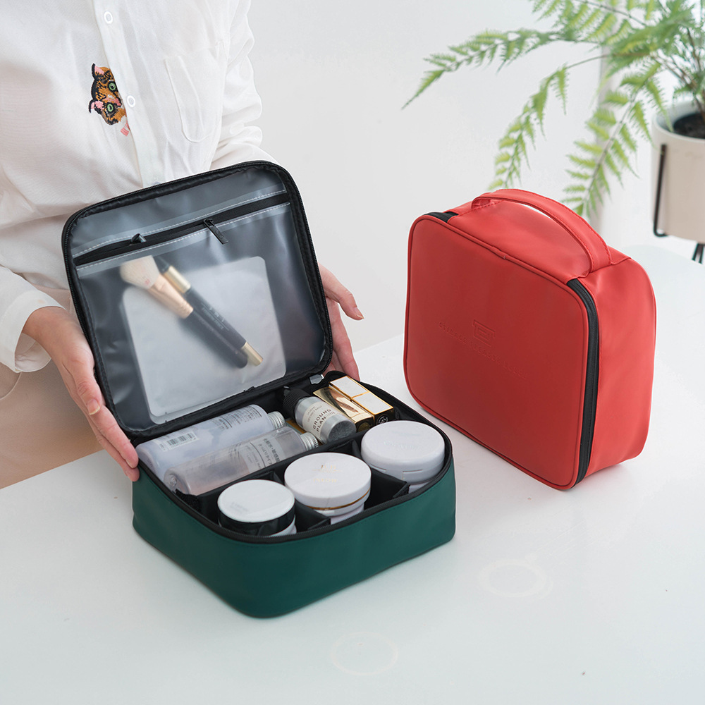 Waterproof Cosmetic Bag New Large-capacity Multi-layer Portable Storage Box