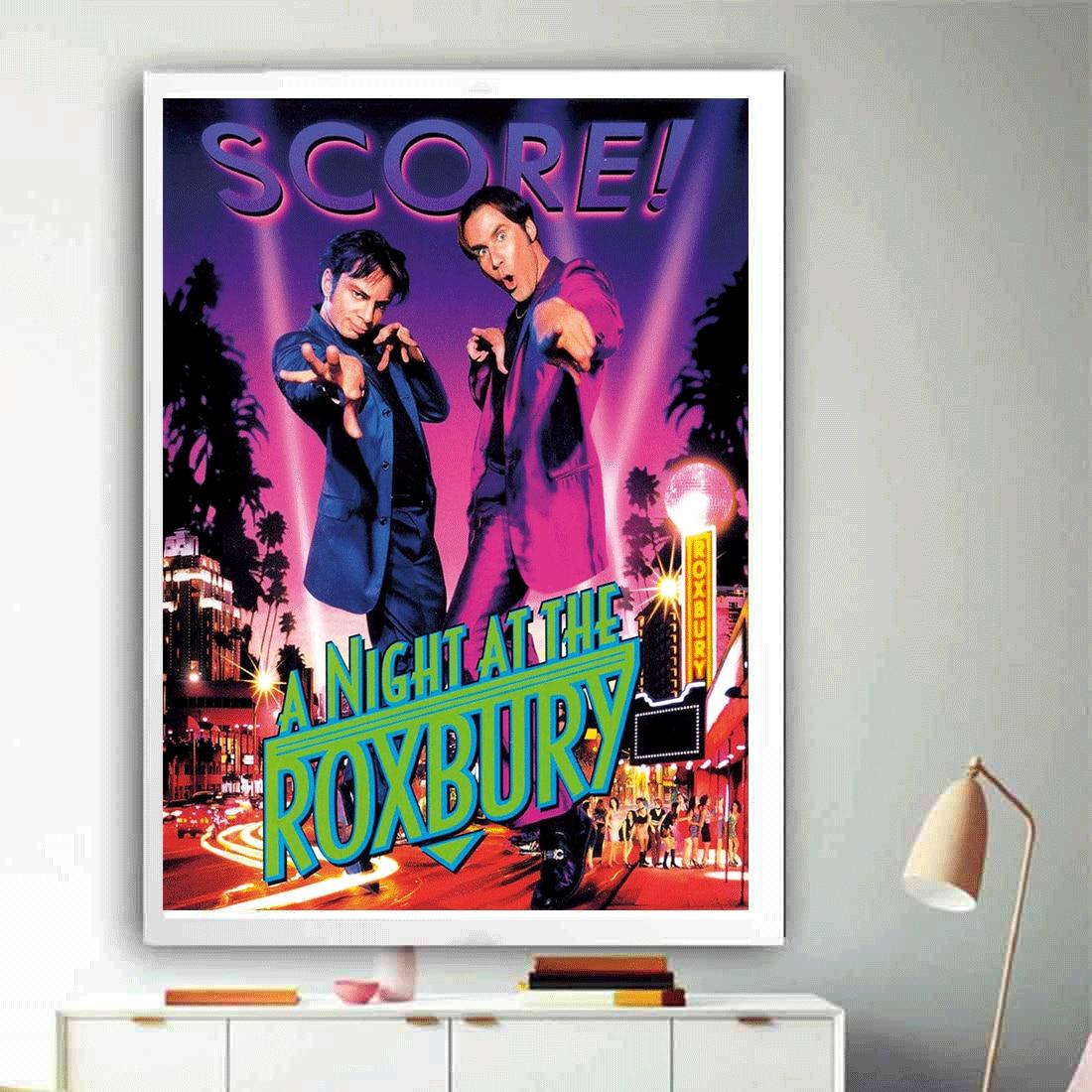 M220 ночь в Роксбери классический постер фильма горячая пленка шелковая Живопись 12x18 24x36in украшения фотографии на домашней стене подарок