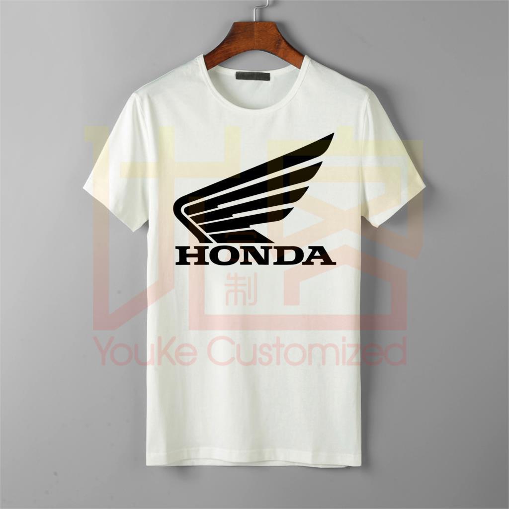 Racing Honda T-Shirt - Short Sleeve Tee Mens Motocross MX MTB Off-Road -cotton 0-neck Top Sale Shirt