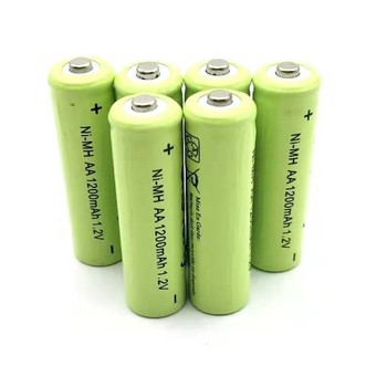 16PCS AA Battery NIMH AA 1200Mah 1.2V 2A Ni-Mh Rechargeable Batteries AA Bateria Baterias 12pieces pkcell aa battery ni mh rechargeable batteries 2a bateria baterias ni mh 2000mah 1 2v aa rechargeable battery