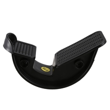 Носилки для голеностопного сустава, Спортивная Массажная педаль, облегчающая подошвенный фасциит, уличное домашнее фитнес-оборудование черного цвета