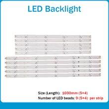 새로운 10 개/대 LED 백라이트 스트립 LG 50LB650V Innotek DRT 3.0 50 A B 6916L 1736A 1735A 1978A 1979A LC500