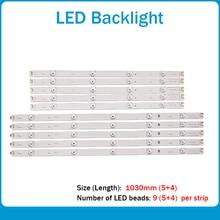 新 10 ピース/セット LED バックライトストリップの交換 lg 50LB650V イノテック Ypnl DRT 3.0 50 AB 6916L 1736A 1735A 1978A 1979A LC500