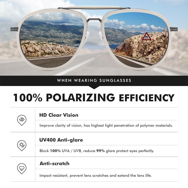 Купить lm новая мода большая оправа поляризованные солнцезащитные очки